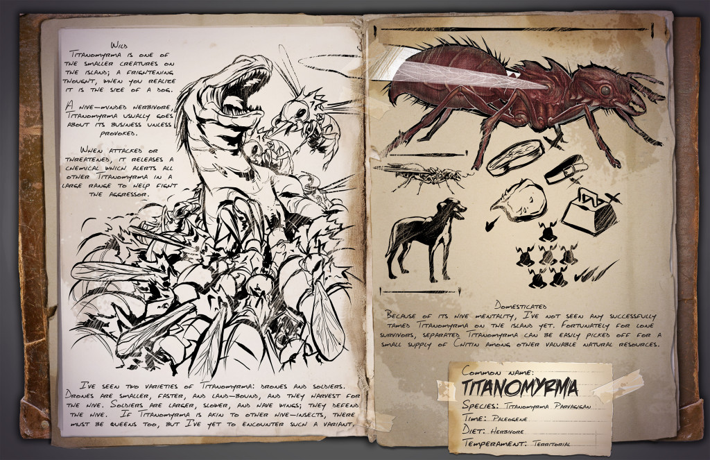 Titanomyrma  Муравей-титан